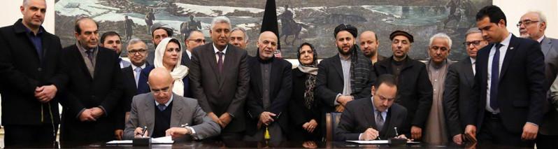 تمرکز ایتالیا در غرب؛ توافقنامه پروژه ساخت جاده هرات-چشت شریف امضا شد