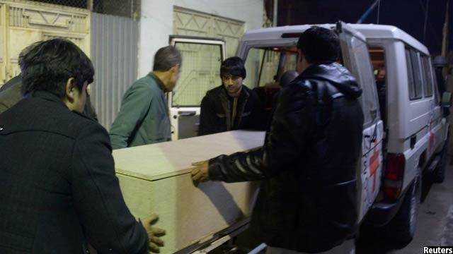 در حمله دیروز به جان کارمندان این سازمان در ولایت جوزجان شش تن آنان کشته شدند