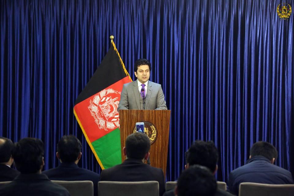 مجیب الرحمان رحیمی، سخنگوی ریاست اجرایی افغانستان