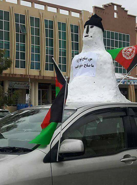 Snowfall in Afghanistan welcomed by people (2)