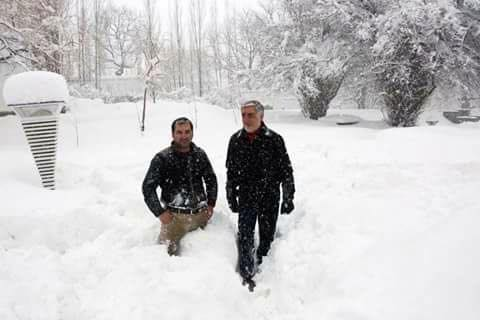 Snowfall in Afghanistan welcomed by people (3)
