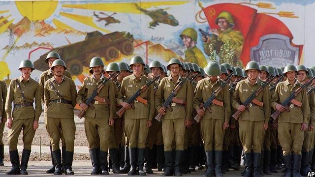 سربازان قشون سرخ شوروی در کابل، 19 اکتوبر 1986