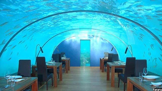 Underwater Resturant - Maldive