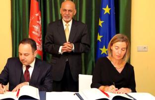اصولنامه روابط کابل–بروکسل؛ امضای توافقنامه مشارکت و توسعه و آغاز فصل جدید همکاریهای افغانستان-اتحادیه اروپا