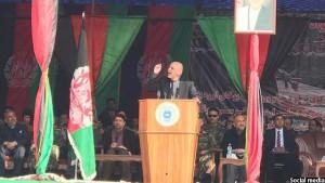 رییسجمهور غنی در مراسم امروز
