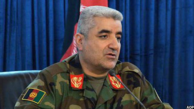 جنرال قدم شاه شهیم، رئیس ستاد مشترک ارتش افغانستان
