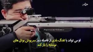 -کردن-نوشابه-با-سلاح؛-این-مرد-یکی-از-دقیقترین-و-حرفهایترین-نشانزن-است