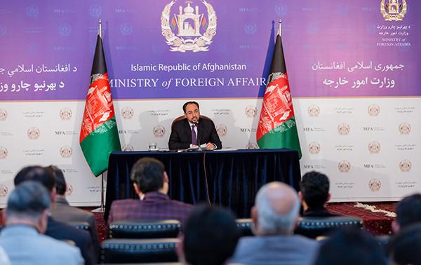 Afghan MoFA Salahuddin Rabbani