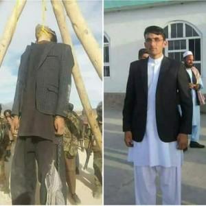 فیض الرحمن وردک، از دانشجویان سال چهارم دانشکده انجینیری دانشگاه پولی تخنیک کابل. او چندی قبل از سوی طالبان به دار آویخته شد. / عکس: رسانههای اجتماعی