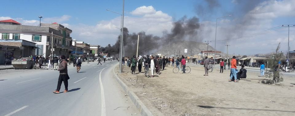 Kabul attack on PD6