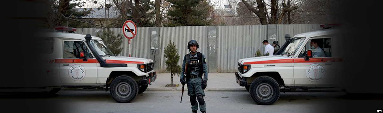 حمله کنندگان انتحاری در شفاخانه۴۰۰ بستر؛ درگیری میان نیروهای امنیتی و تروریستان ادامه دارد
