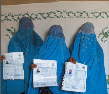 Burqa afghan women