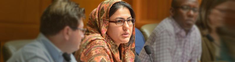 تازهوارد بازی بزرگان افغانستان؛ غزال حارس، پژوهندهی حقوق اساسی و سفر سیال سازندگی