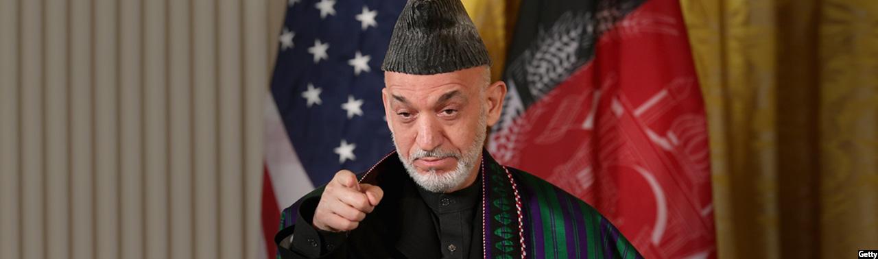 حاشیههای بمب مادر؛ حامد کرزی، تصمیم سوم و اعلام ایستادگی تا خروج آمریکا از افغانستان