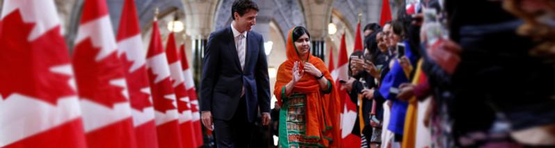 جهان ما؛ از خبرسازی نخستوزیر محبوب کانادا تا ماهیگیری در یخبندان روسیه