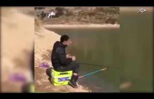 شاید تا هنوز این گونه ماهی گیری را ندیده باشید!!!