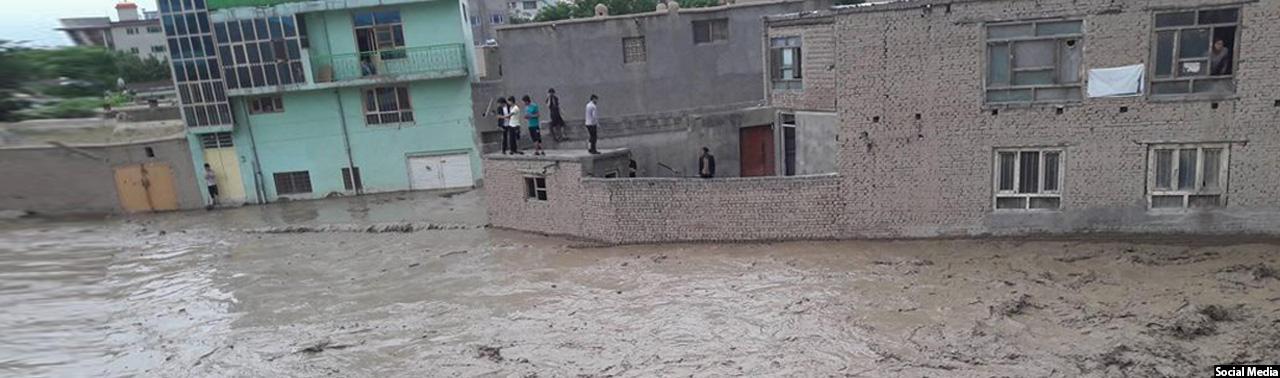 سیلاب دریای کابل؛ ۸ تصویری که جلوه دیگر بهار پایتخت را نمایش میدهد