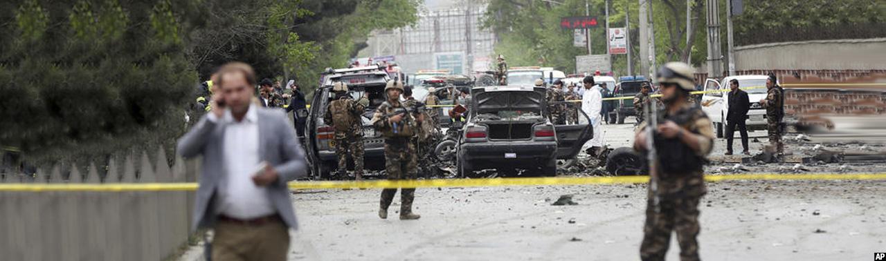 حمله انتحاری در کابل؛ ۸ کشته و ۲۵ زخمی