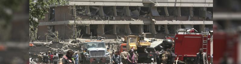 مسولان بازرگانی افغان: ۱۰ میلیون دالر ضرر انفجار امروز کابل