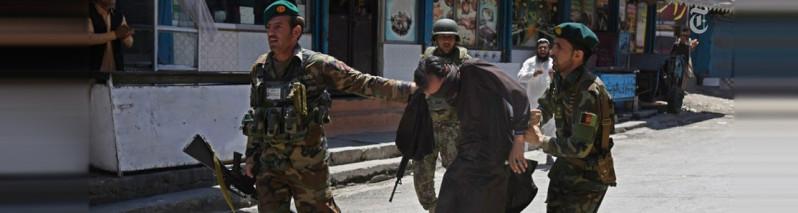 ۱ کشته و ۱۷ زخمی؛ پایان حمله گروه داعش به ساختمان تلویزیون ملی افغانستان در ننگرهار