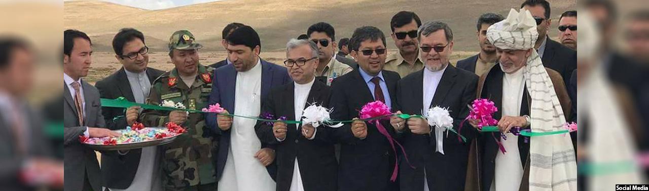 اتصال بامیان به شمال؛ افتتاح کار ساخت جاده یکاولنگ–دره صوف در مرکز افغانستان