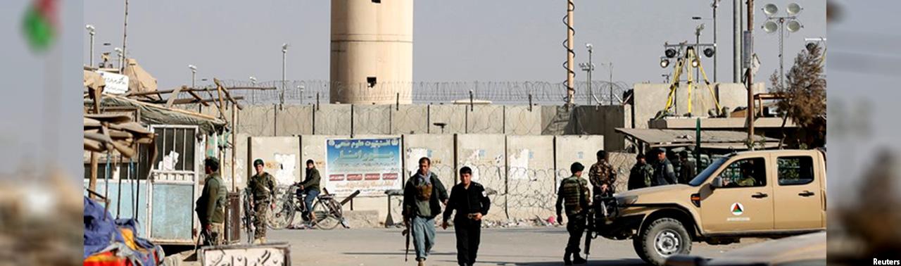 پروان؛ کشته شدن ۸ نگهبان پایگاه نظامی بگرام در افغانستان