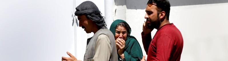 روز مادر در افغانستان و تابوتهای فرزندانی که به خانه برگشتند