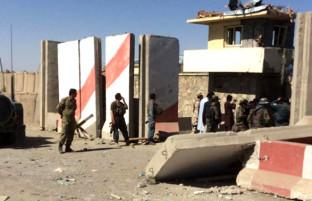حمله گروهی انتحاری بر فرماندهی زون ۳۰۳ سپین غر در پکتیا