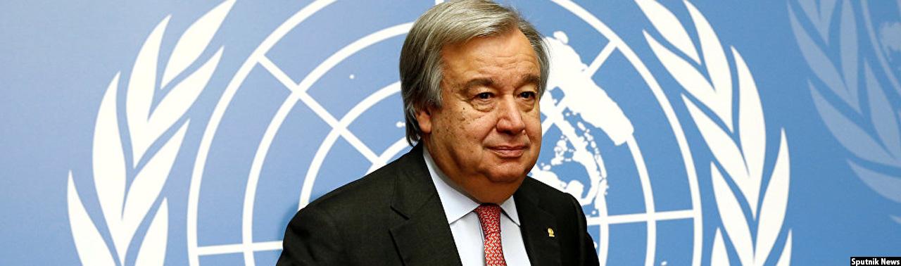 دبیرکل سازمان ملل در حومه کابل؛ جنگ افغانستان راه حل نظامی ندارد