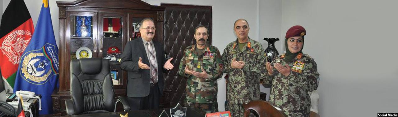 پس از گل نبی احمدزی؛ سرپرست جدید فرماندهی گارنیزیون کابل را برعهده گرفت