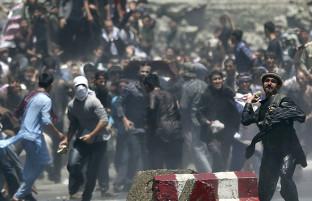 روز دوم؛ ادامهی تظاهرات مردمی با وجود هشدارهای امنیتی گارنیزیون کابل