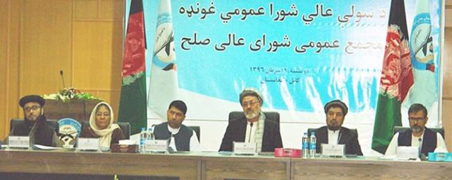 شورای عالی صلح: حکومت و علمای اندونیزیا برای برقراری صلح در افغانستان همکاری میکنند