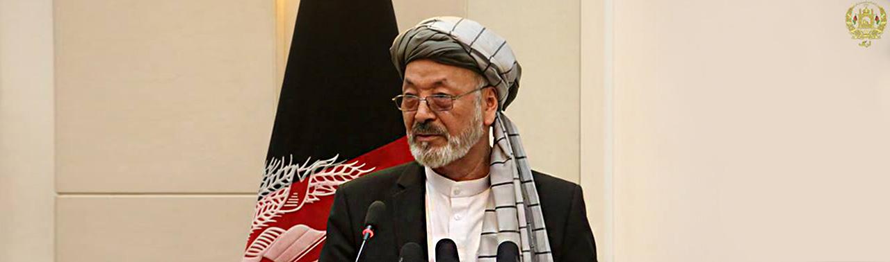 رییس جدید شورای عالی صلح؛ از ترغیب طالبان به ترک جنگ تا درخواست همکاری از کشورهای منطقه
