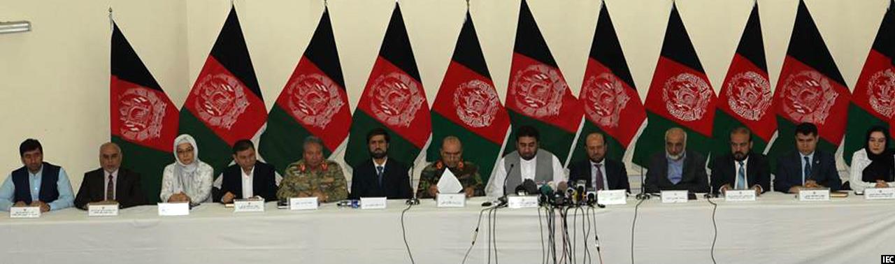 امضای توافقنامه همکاریهای کمیسیون انتخابات و نهادهای امنیتی افغانستان
