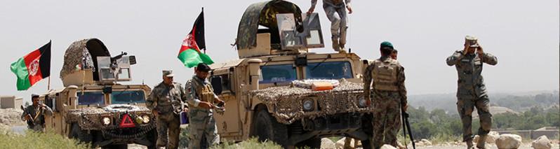 در فراه: نابودی ۳۳ شورشی طالبان