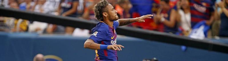 درخشش نیمار؛ بارسلونا منچستر یونایتد را مغلوب کرد