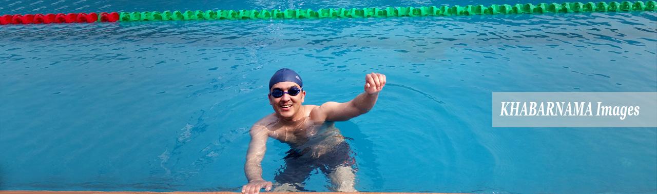 حامد رحیمی؛ امید افغانستان در مسابقات جهانی قهرمانی شنا