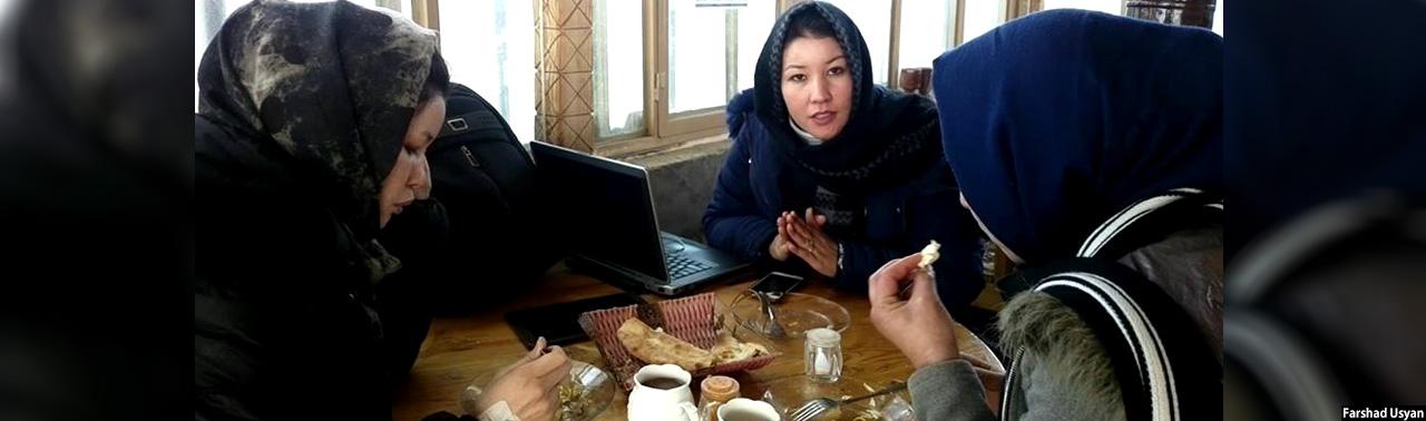 اولین چایخانه بانوان در بامیان؛ اقامتگاه ویژه و گامی برای بهبود وضعیت اقتصادی زنان