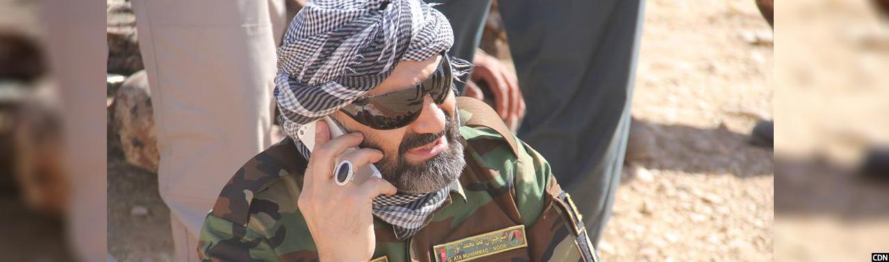 سرکوب طالبان؛ والی بلخ در خط مقدم جنگ در شهرستانهای چمتال و چهار بولک