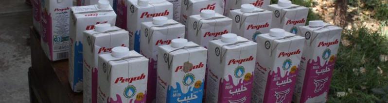 در کابل؛ کشف ۲۰ کیلوگرام تریاکِ جاسازی شده در قوطیهای شیر