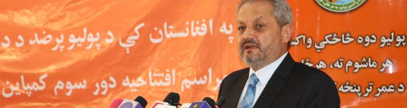 گام بزرگ وزارت صحت افغانستان؛ واکسین پولیو برای ۹ میلیون کودک در یک هفته آینده