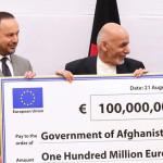به منظور اصلاحات کلیدی؛ اتحادیه اروپا 100 میلیون یورو به افغانستان کمک کرد