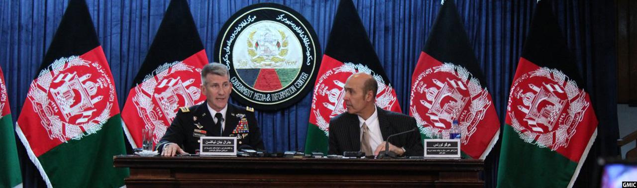 فرمانده حمایت قاطع و سفیر آمریکا؛ حضور جامعه بین المللی در افغانستان مقید به زمان نیست