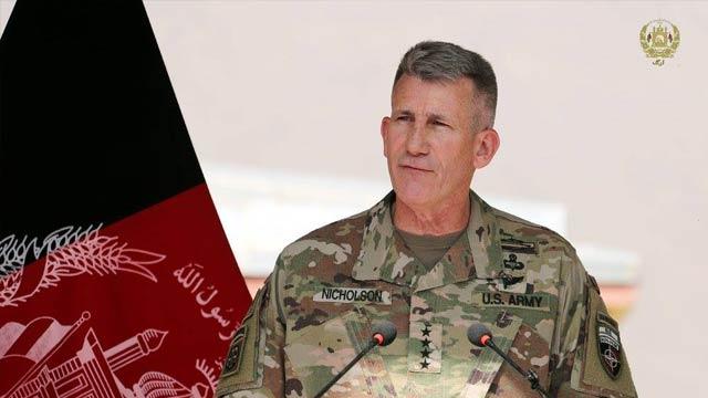 جنرال جان نیکلسون، فرمانده کل نیروهای خارجی در افغانستان