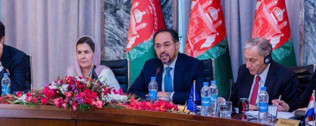 در نشست کابل-اتحادیه اروپا؛ ضرورت تمرکز جامعه جهانی بر گروه های تروریستی و حامیان خارجی