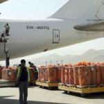 ششمین پرواز؛ انتقال 37 تُن میوه افغانستان به هند از مسیر دهلیز هوایی