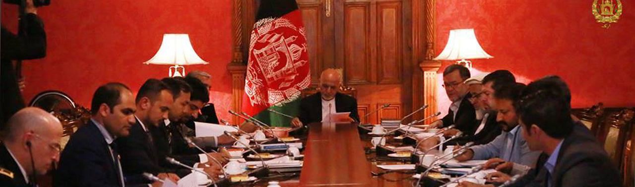در کمیسیون تدارکات ملی؛ اعطای پروژههای بازسازی به ارزش ۲ میلیارد افغانی