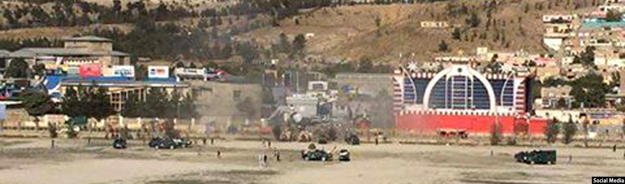 ۳ کشته و ۵ زخمی؛ حمله انتحاری در مقابل استدویم ورزشی بین المللی الکوزی در کابل