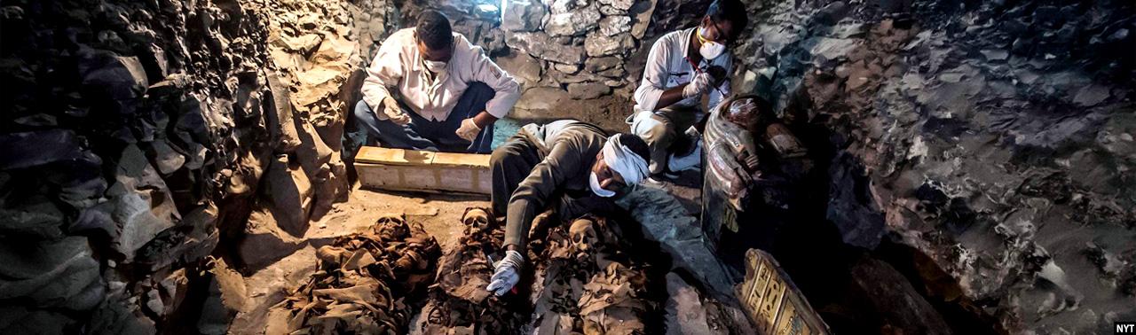 در مصر؛ کشف آرامگاه ۳۵۰۰ سالهی یک جواهرساز سلطنتی و رشد صنعت گردشگری