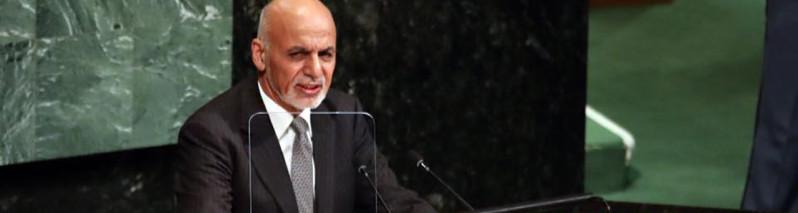 در مجمع عمومی؛ اشرف غنی خواهان تغییر دیدگاه جامعه جهانی نسبت به جنگ افغانستان شد